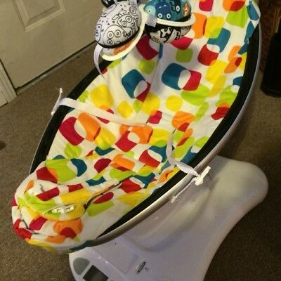4Moms mamaRoo Multi Color Plush Infant Seat Swing