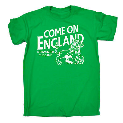 Come On England Football soccer supporter Sports funny tshirt T-SHIRT tee