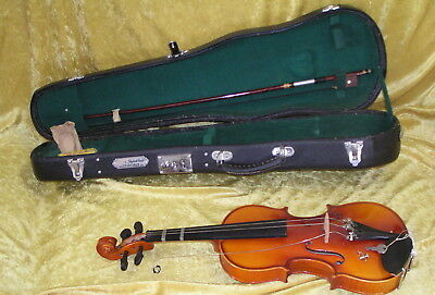 7/8-SIZE SHIMRO VIOLIN in HARD CASE Teen or Adult