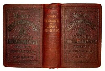 ANTIQUE COOKBOOK Confectionery FARM Home BEES Jewelry SOAP Dyes METALS Medical