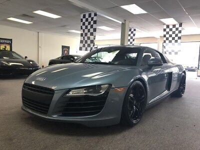 2009 Audi R8  manual 6 speed free shipping warranty v8 exotic finance cheap clean carfax