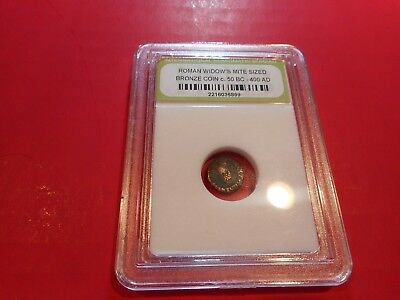 Ancient Roman Widows Mite Bronze Coin 50 BC - 400 AD Ships from USA