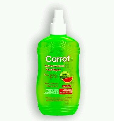 Carrot Sun Australia, Watermelon Carrot Sun Tanning Oil 200ml