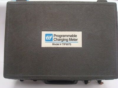 Tif 9075 Dual Purpose Automatic Programmable Charging  Meter Scale