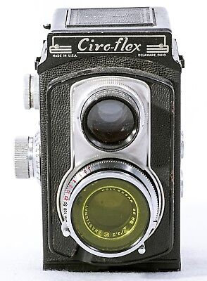 Ciro-flex Model E Vintage TLR, Tested and Working, Good Condition