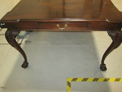 HENREDON Rittenhouse Square Mahogany Dining Room Table (and Two Leaves)