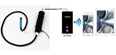 VA-980-WiFi Bundle Vividia VA-980 Articulating Borescope for iPad/iPhone/Android