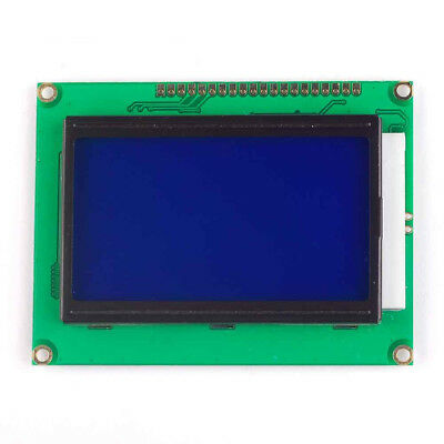 New 5V 12864 LCD Display Module 128x64 Dots Graphic Matrix LCD Blue Backlight