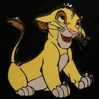 Disney Lion King Simba Sitting with Floppy Ears Pin New On Original Card