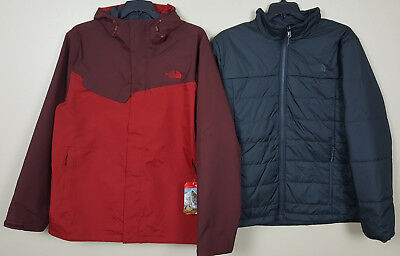 71cf38541 The North Face Beswick Triclimate 3-In-1 Jacket Cardinal Red $240 New (Size  Xl)