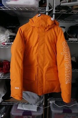5eb6fac109c6 Supreme 700 Down Fill Parka Orange New York Medium Yeezy