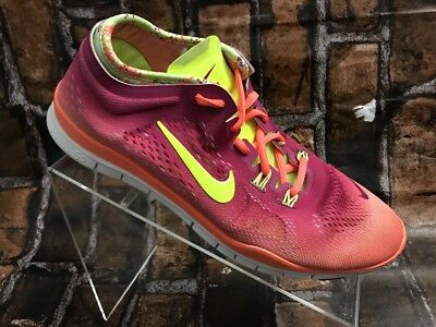 7bcd707cca010 WOMEN S SHOES NIKE Free TR Fit 4 5.0 Lace Up Athletic Running Size 8 ...