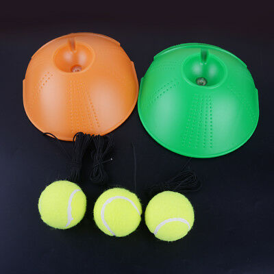 Singles Tennis Training Balls Practice Self-study Baseboard and 3x Rebound Balls