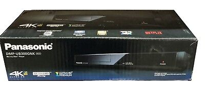 Panasonic Ultra HD Premium 4K HDR UHD Blu-ray Player DMP-UB300GNK New
