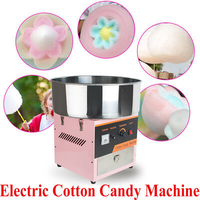 【USA】Electric Cotton Candy Machine Floss Maker Commercial Carnival Party Wedding