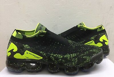 Nike Air Vapormax Moc 2 Acronym Black Volt Yellow Fashion Wear Fast Shipping