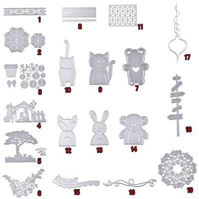 Metal Cutting Dies for Cards and Stamps stencil Scrapbooking Craft Kids Gift DIY
