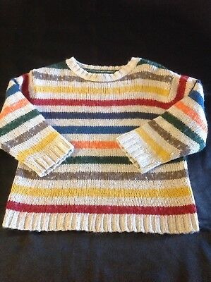toddler boy or girl knitted jumper cardigan coat knitwear size 3