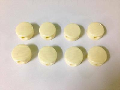 Ivory color Acrylic buttons for Mandolin tuners, 8pcs :  P7I #Alulu