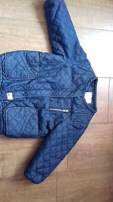zara baby girl jacket size 12-18 months great condition