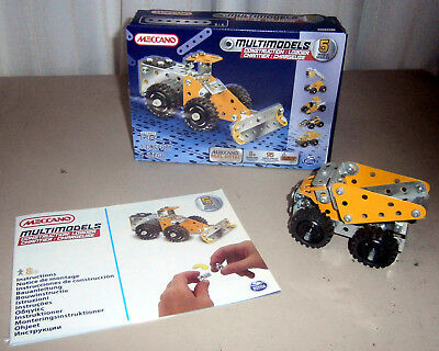 Meccano Multimodels 5 Models In One Set Of 95 Pieces