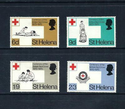 ST. HELENA _ 1970 'RED CROSS' SET of 4 _ mh ____(536)