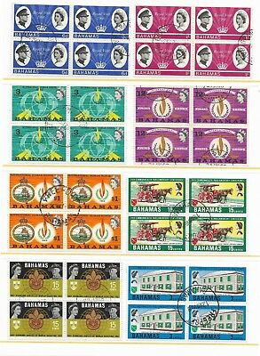 Bahamas Stamps in 15 Blocks