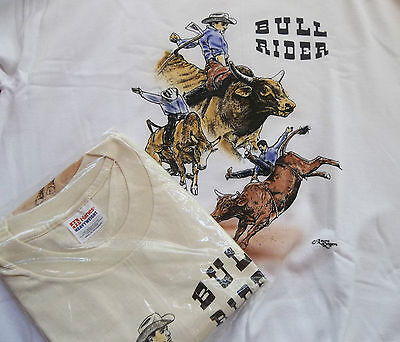 Bull Rider Sweatshirt & T-shirt Set  XL ( 46 ~ 48 )