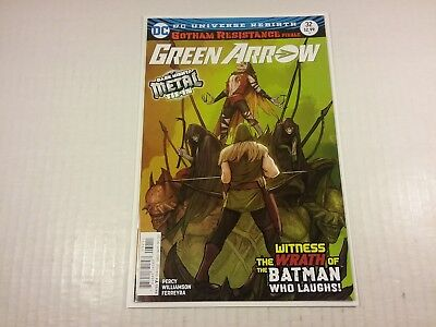 Green Arrow #32, Metal Tie-In, Batman Who Laughs, NM