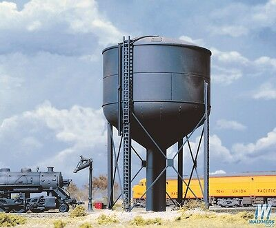 Walthers Cornerstone Steel Water Tank 933-3043 HO Scale (suit OO also)