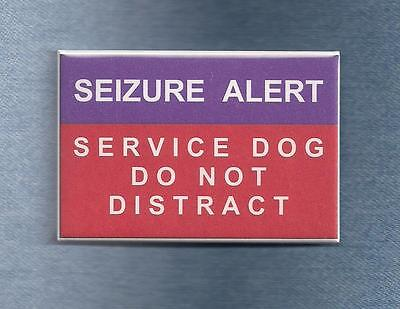 ~~ $ALE ~~ SEIZURE ALERT SERVICE DOG DO NOT DISTRACT -  use instead of patch