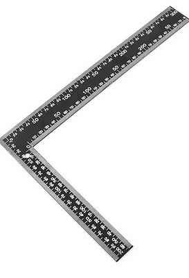 300 X 200mm Angle Square Measuring Triangle L Shaped Steel Ruler 30cm X 20cm