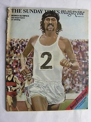 SUNDAY TIMES August 20 1972 Munich Olympics Juha Vaatainen David Jenkins Jim Fox