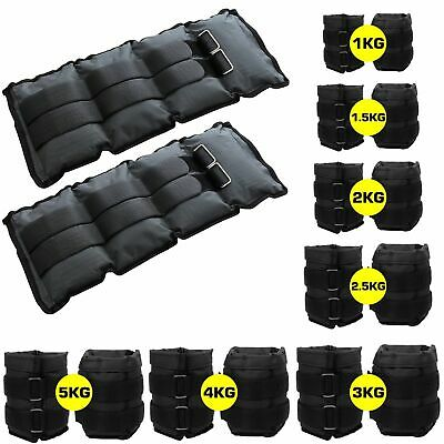 Ankle Weights Adjustable Leg Wrist Strap Running Boxing Braclets Straps Gym