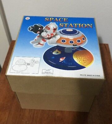 Space Station Mars 10 Tin Toy