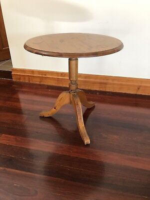 Antique Pine Side Table