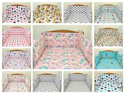 Baby bedding sets 2,3,5 or 6 pcs for cotbed 140x70 or cot 120x60