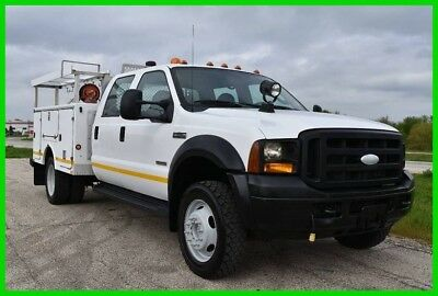 2006 4X4 Ford F-550 XL Service / Utility Truck Great Running! Stock#15719