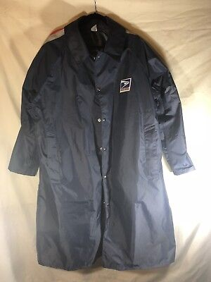 USPS United States Postal Service Letter Carrier Rain Coat Men's Extra Large