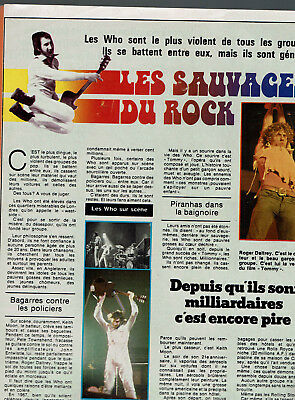 Les Who 1 Page  1976 / Clipping Press