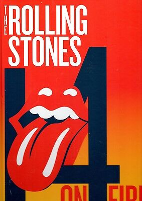 The Rolling Stones 4 On Fire Tour Concert Programme Program Book