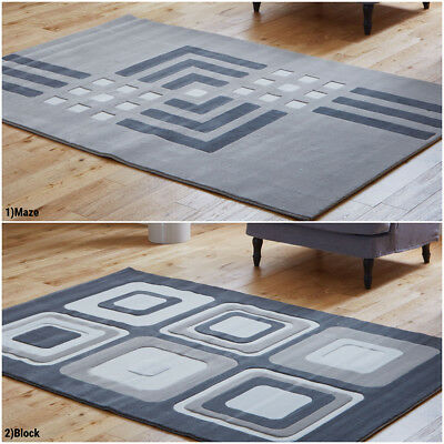 Grey Color Studio Rug 12Mm Thick Pile Warehouse Clearance Rugs On Sale