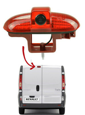 Renault Trafic Van Reversing Camera Kit For Brake Light Integration 2001 - 2014