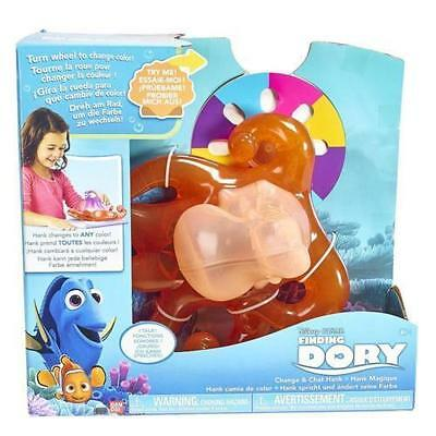 New Disney Finding Dory Change & Chat Hank Playset