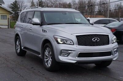 QX80 AWD LEATHER SUNROOF 3RD ROW NAVIGATION WARRANTY 2017 INFINITI QX80 AWD LEATHER SUNROOF 3RD ROW NAVIGATION WARRANTY 30,144 Miles
