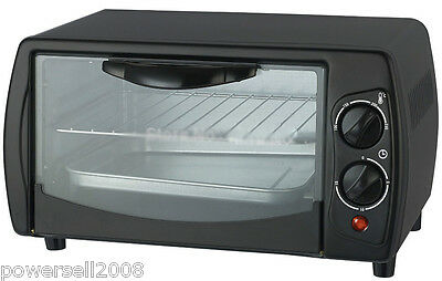 New Black High-Quality Convenient Simple Aluminum Electrical Toaster Ovens