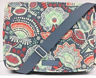 952cc85f3ca5 Vera Bradley MESSENGER Nomatic Floral Pattern Bag Campus Crossbody Shoulder