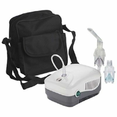 Nebulizer Machine Compressor System w/ Carry Bag MedNeb+ MQ5700B