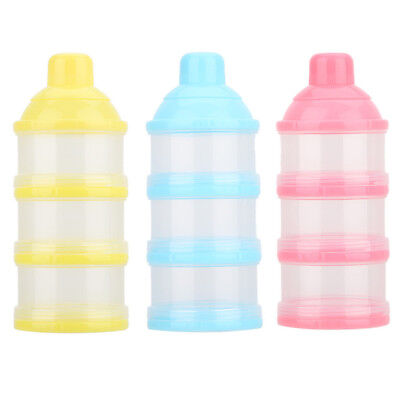 Baby Food Dispenser Formula Powder Storage Container Infant Feeding Milk Box Pot