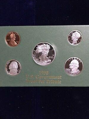 1938 U.S Goverment Proof Set Tribute Silver Plated